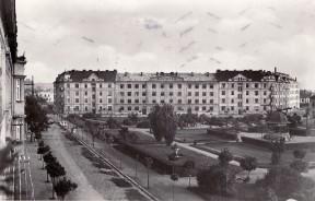 Náměstí Svobody před 70 lety, v roce 1940. Foto: Archiv J. Rosmuse