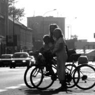 Cyklisté to v Přerově nemají nejjednodušší. Foto: autor